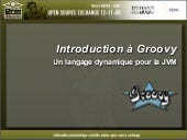 Introduction à Groovy - OpenSource ...