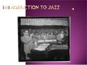 Introduction To Jazz