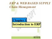 Introduction to ERP (Enterprise Res...