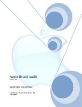 Apple Brand Audit