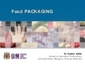 Introduction food packaging