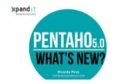 Introduction Pentaho 5.0
