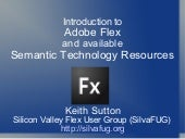 Introduction To Adobe Flex And Sema...