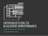 Introduction to Building Wireframes (with Keynote)