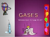 Introduction to gases
