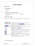 Introduction To Gmail - Agenda