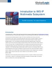 Introduction to IMS-IP Multimedia S...