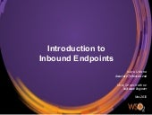 Introduction to Inbound Endpoints in WSO2 ESB 4.9.0 (HTTP/S, File, JMS)