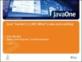 Introduction to java servlet 3.0 ap...