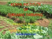 Introduction to organic farming.