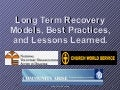 Introduction To Organizing And Effective Long Term Recovery Process In Disaster Affected Communities
