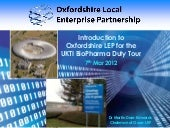 Introduction to Oxfordshire LEP for...