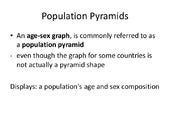 Introduction to population pyramids