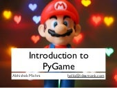 Introduction to Game programming wi...