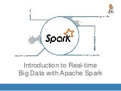 Introduction to real time big data with Apache Spark
