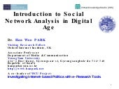 Introduction To Social Network Anal...