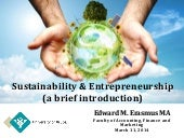 Introduction to Sustainability & En...