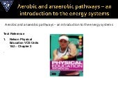 Introduction to the energy systems