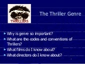 Introduction to thriller final