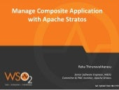 Managing Composite Application in Apache Stratos