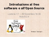 Introduzione al Free Software e all...