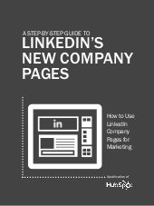 Guide to the New LinkedIn Company P...