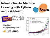 Introduction to Machine Learning with Python and scikit-learn