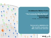 The Community Maturity Model - intr...