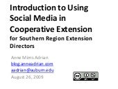 Intro Social Media for Cooperative ...