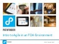 Intro to Agile in an FDA Environment