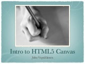 Intro to HTML5 Canvas