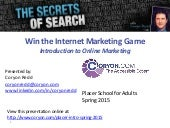 Introduction to Online Marketing Spring 2015
