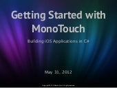 Getting Started Using MonoTouch