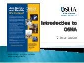 Intro To Osha Ppt 4.2010 Constructi...