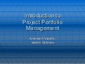 Intro To Portfolio Management 1