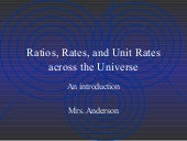 Intro to ratios, rates, and unit rates