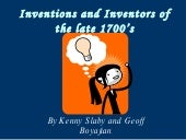 Inventions And Inventors Of The Lat...