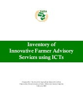 Inventory of innovative farmer advi...