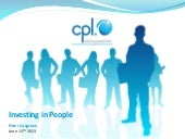 Investing in People 2013