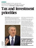 Invest In Kazakhstan   Tax And Investment Priorities P 92 95