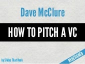 How to Pitch a VC Redesigned