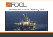 Falkland Oil & Gas Ltd. video