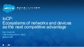 Ecosystems of Networks and Devices as the Next Competitive Advantage
