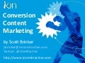 Conversion Content Marketing by Scott Brinker