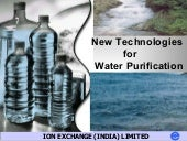 New Technologies for Water Purifica...