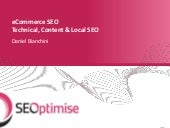 Technical, Content and Local SEO - ...