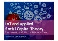 IoT and applied Social Capital Theory