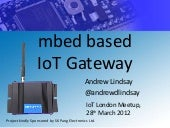 IoTlondon - mbed based IoT Gateway ...