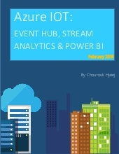Azure IOT: EVENT HUB & STREAM ANALYTICS & POWER BI