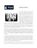 iPad iOS 4.2 Update